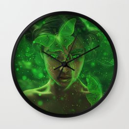 Luna Fairy Wall Clock
