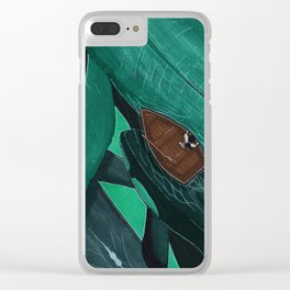 Whale Watcher Clear iPhone Case