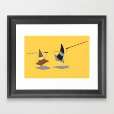 The Cone Wars Framed Art Print