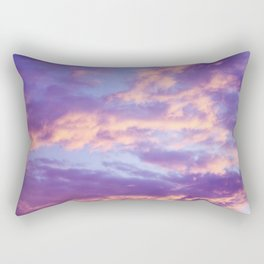 Dreamy Clouds Rectangular Pillow