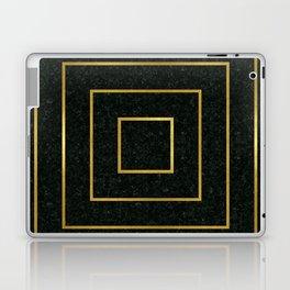 Golden Squares Laptop & iPad Skin