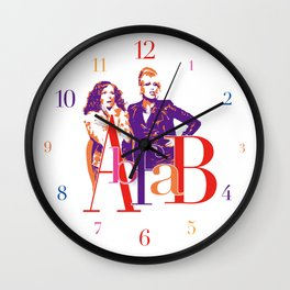 AbFab Wall Clock