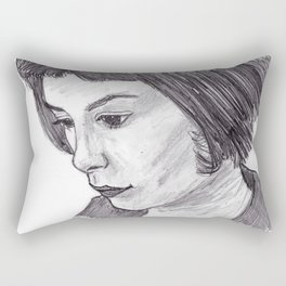 Audrey Tautou Rectangular Pillow