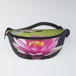 Pink Waterlily Reflects Fanny Pack
