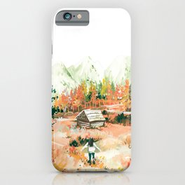 Autumn in Slovenia iPhone Case