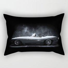 Jaguar E-Type XKE Profile Rectangular Pillow