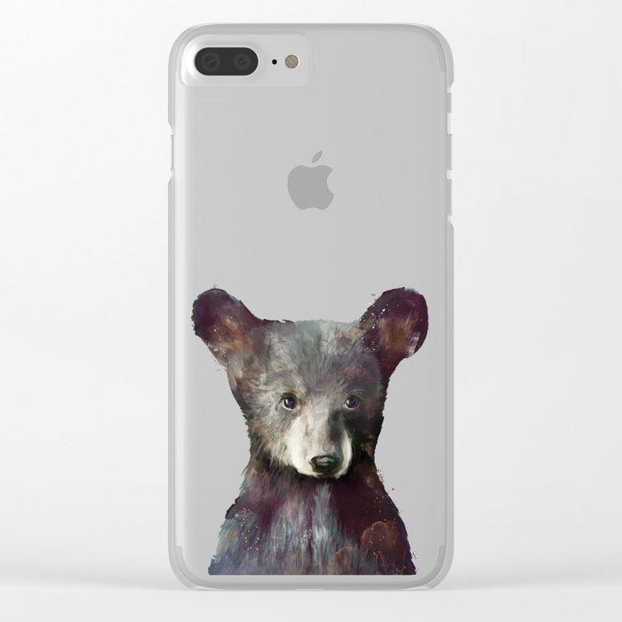 Little Bear Clear iPhone Case
