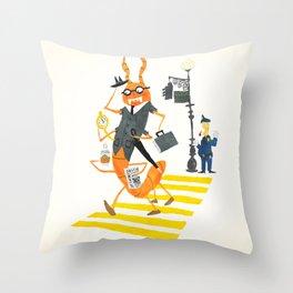 The Centipede Human Throw Pillow