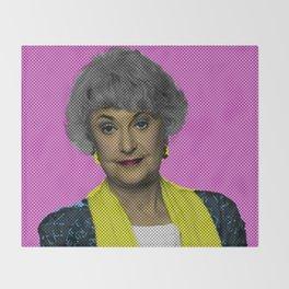 Bea Arthur: The Golden Girls Throw Blanket