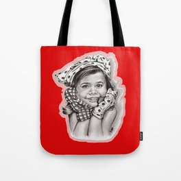Little Girl Tote Bag