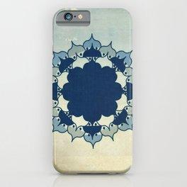 Lotus Mandala Sand Water Wash iPhone Case