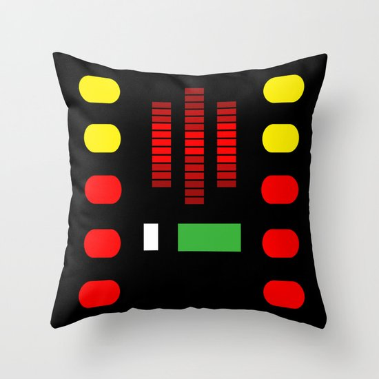 KITT Throw Pillow