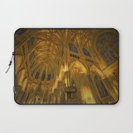 Golden Light Cathedral Laptop Sleeve