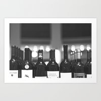 wine Art Prints featuring wine by Alyson Cornman Photography