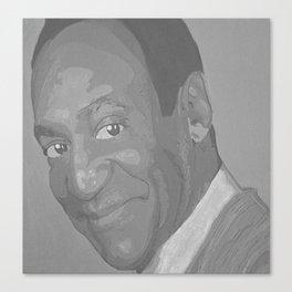 Black and White Bill Cosby Canvas Print