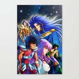 Saint Seiya Poster Canvas Print