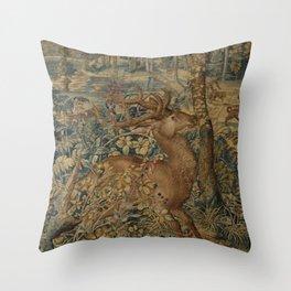 Hunt of Maximilian Throw Pillow