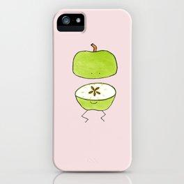 Apple Halves iPhone Case