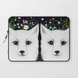 white fox Laptop Sleeve