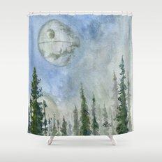 The Endor Morning Sky Shower Curtain