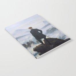 """Caspar David Friedrich """"Wanderer above the sea of fog"""" Notebook"""
