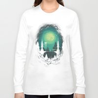 threadless Long Sleeve T-shirts featuring 3012 by Robson Borges