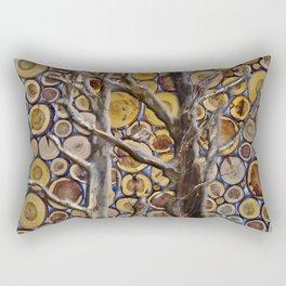 Through the Woods Rectangular Pillow