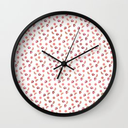 Fruit Slices Pattern Wall Clock