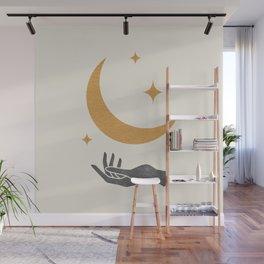Moonlight Hand Wall Mural