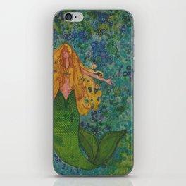 Mermaid Chill iPhone Skin