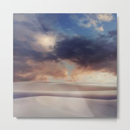 Tranquility of Dune Metal Print