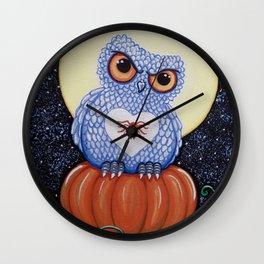 Protector of the Pumpkin Wall Clock