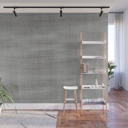 Pantone Pewter Dry Brush Strokes Texture Pattern Wall Mural
