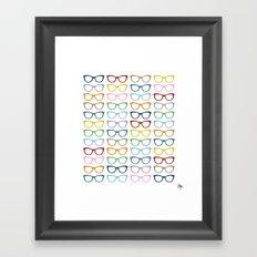 Glasses #2 Framed Art Print