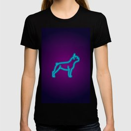 NEON FRENCH BULLDOG DOG T-shirt