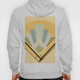 1930's Art Deco Hoody