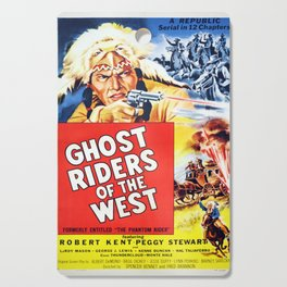 Ghost Riders of The West Cutting Board
