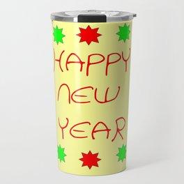 happy new year 3 Travel Mug