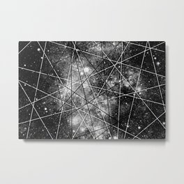 Fly Up to the Heavens (bnw) Metal Print