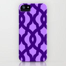 Grille No. 2 -- Indigo iPhone Case