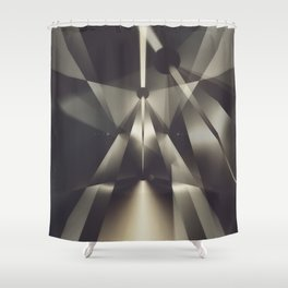 Through The Hardened Bits Shower Curtain