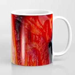 Embossed Flame Forms Coffee Mug