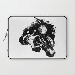 Leroy (Messy Ink Sketch) Laptop Sleeve
