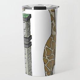 Giraffe's City-Scape Travel Mug