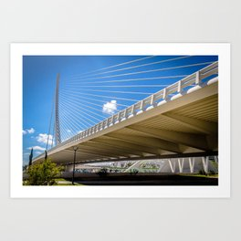 Assut de l'Or Bridge Art Print