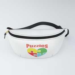 Puzzle Lover Fanny Pack