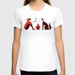 Little Red and Big Bad T-shirt