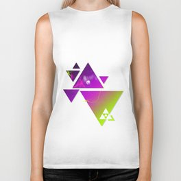 Triangulation Biker Tank