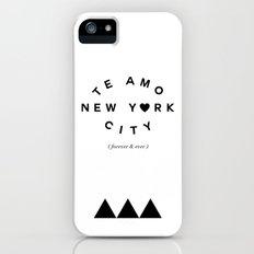 TE AMO NEW YORK CITY (forever & ever) Slim Case iPhone (5, 5s)