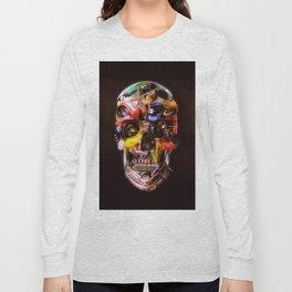 Hot Rod Skull Dark Long Sleeve T-shirt